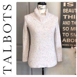 💕NWOT Talbots Cream Colored Turtleneck Sweater💕
